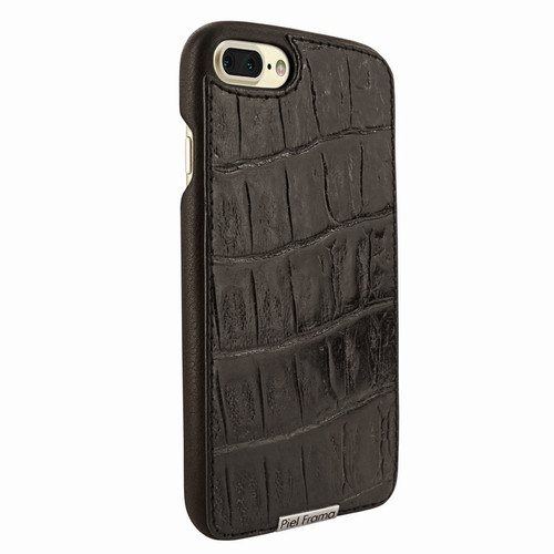 Piel Frama 768 Brown Wild Crocodile FramaSlimGrip Leather Case for Apple iPhone 7 Plus / 8 Plus