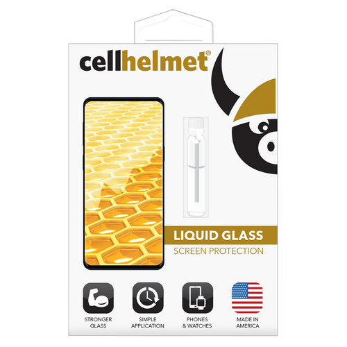 Cellhelmet - Liquid Glass Screen Protection for Phones - Clear