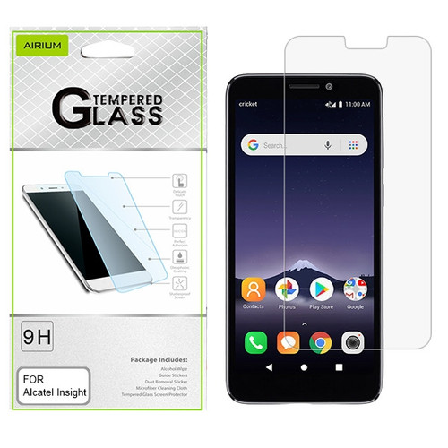 Airium Tempered Glass Screen Protector (2.5D) for Alcatel Insight - Clear