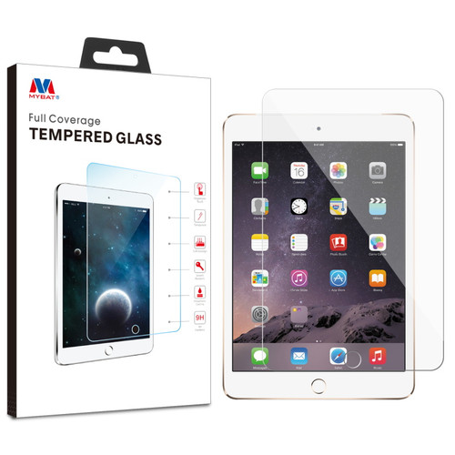 MyBat Tempered Glass Screen Protector for Apple iPad mini (A1432,A1454,A1455)/iPad mini 3 (A1599,A1600) / iPad mini with Retina display (A1489,A1490,A1491) - Clear