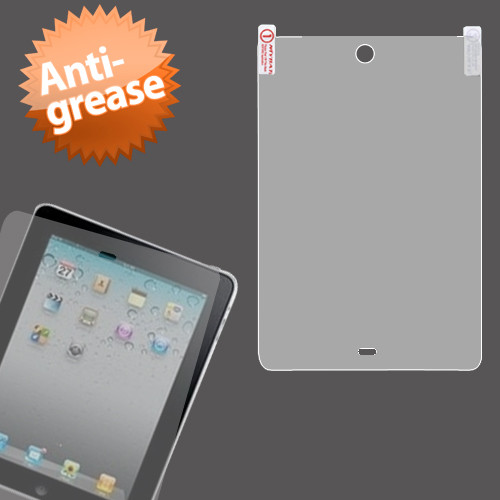 MyBat Anti-grease LCD Screen Protector for Apple iPad mini (A1432,A1454,A1455)/iPad mini 3 (A1599,A1600) / iPad mini with Retina display (A1489,A1490,A1491) - Clear