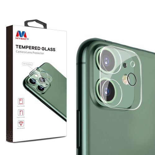 MyBat Tempered Glass Lens Protector (2.5D) for Apple iPhone 11 - Clear