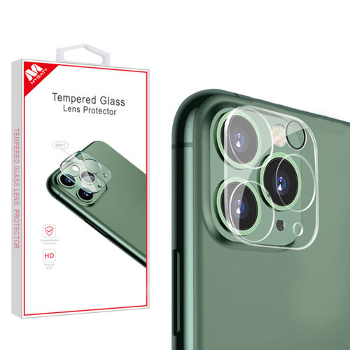 MyBat Tempered Glass Lens Protector (2.5D) for Apple iPhone 11 Pro Max / 11 Pro - Clear