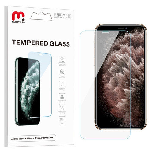 MyBat Pro Tempered Glass Screen Protector (2.5D) for Apple iPhone 11 Pro Max / XS Max - Clear