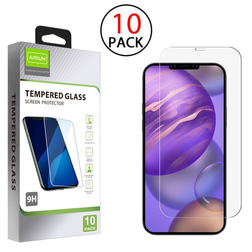 Airium Tempered Glass Screen Protector (2.5D)(10-pack) for Apple iPhone 12 mini (5.4) - Clear