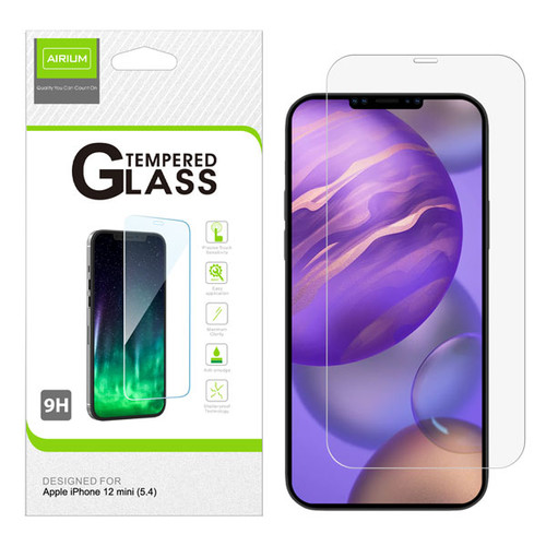 Airium Tempered Glass Screen Protector (2.5D) for Apple iPhone 12 mini (5.4) - Clear