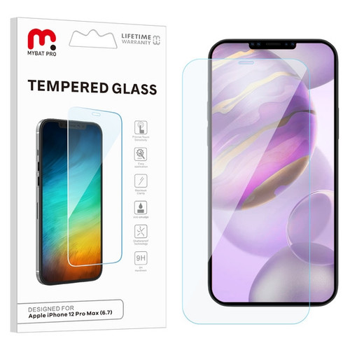 MyBat Pro Tempered Glass Screen Protector (2.5D) for Apple iPhone 12 Pro Max (6.7) - Clear
