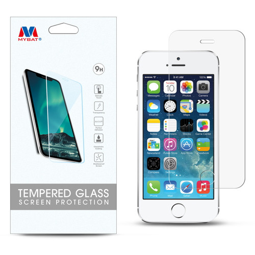 MyBat Tempered Glass Screen Protector (2.5D) for Apple iPhone 5s/5/iPhone SE / 5c - Clear