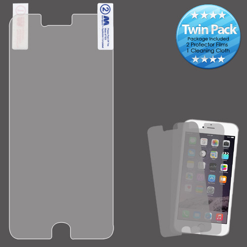 MyBat Screen Protector Twin Pack for Apple iPhone 6s Plus/6 Plus - Clear