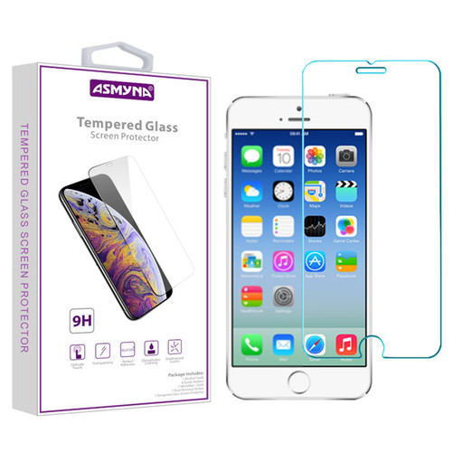 Asmyna Tempered Glass Screen Protector (2.5D) for Apple iPhone 6s/6 / 8/7 - Clear