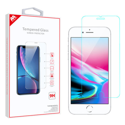 MyBat Tempered Glass Screen Protector (2.5D) for Apple iPhone 8/7 / 6s/6 - Clear