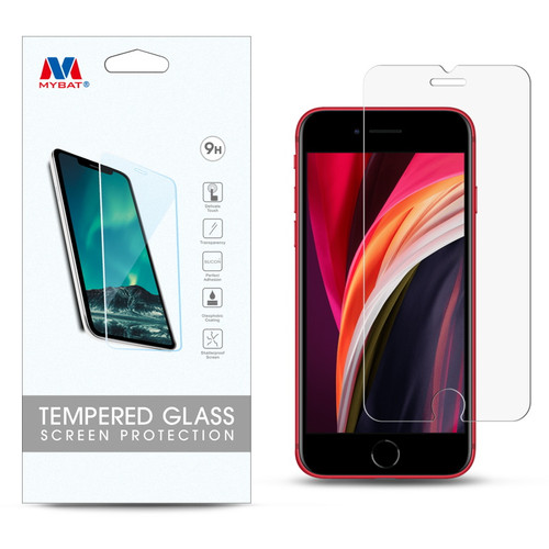 MyBat Tempered Glass Screen Protector (2.5D) for Apple iPhone SE (2020) - Clear