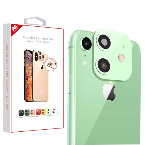 MyBat Modified Camera Lens Seconds Change Cover for Apple iPhone XR - Green
