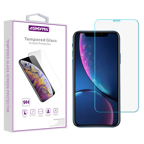Asmyna Tempered Glass Screen Protector (2.5D) for Apple iPhone XR / 11 - Clear