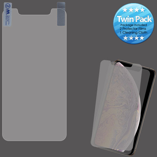 MyBat Screen Protector Twin Pack for Apple iPhone XS Max / 11 Pro Max - Clear