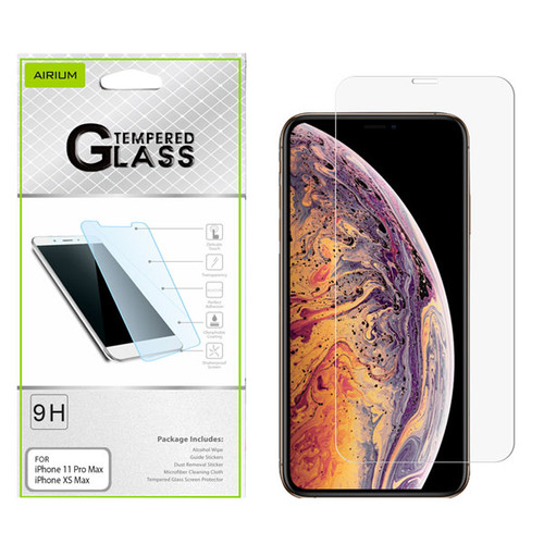 Airium Tempered Glass Screen Protector (2.5D) for Apple iPhone XS Max / 11 Pro Max - Clear
