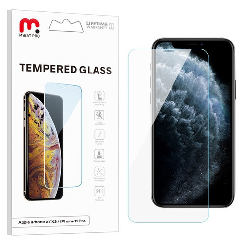MyBat Pro Tempered Glass Screen Protector (2.5D) for Apple iPhone XS/X / 11 Pro - Clear