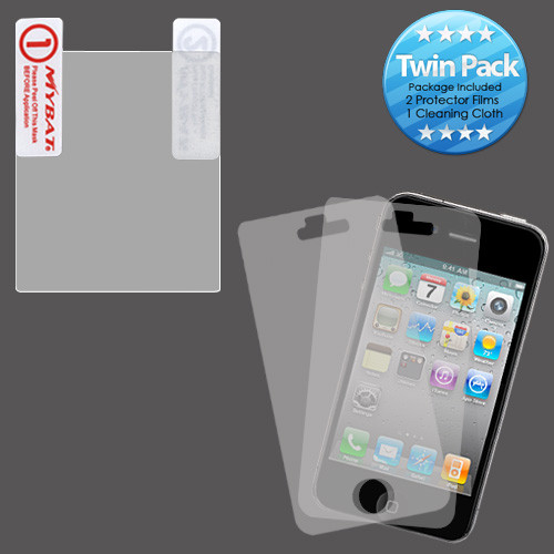MyBat Screen Protector Twin Pack for Blackberry 9700 (Bold) / 9780 (Bold) - Clear
