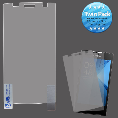 MyBat Screen Protector Twin Pack for Coolpad 3320A (Rogue) - Clear