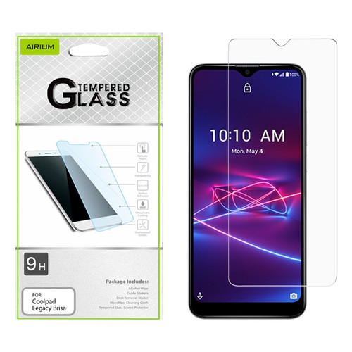Airium Tempered Glass Screen Protector (2.5D) for Coolpad Legacy Brisa - Clear