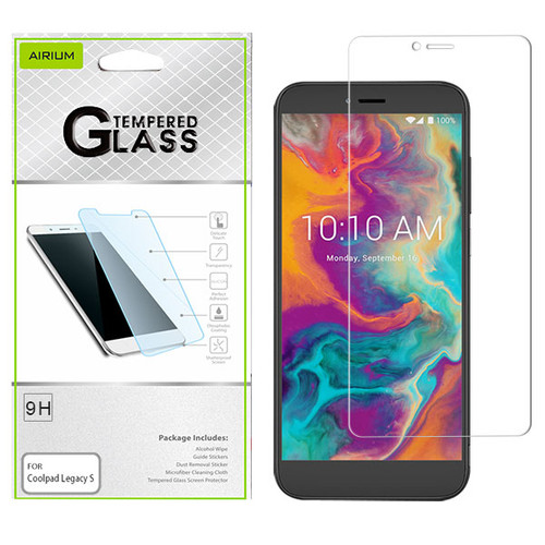 Airium Tempered Glass Screen Protector (2.5D) for Coolpad Legacy S - Clear