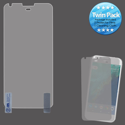 MyBat Screen Protector Twin Pack for Google Pixel (5.0) - Clear