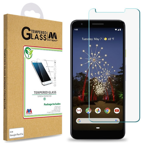 MyBat Tempered Glass Screen Protector (2.5D) for Google Pixel 3a - Clear