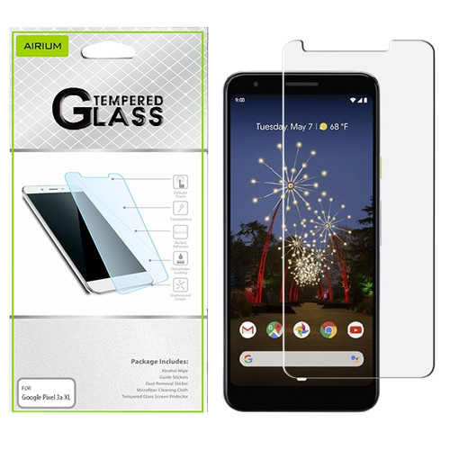 Airium Tempered Glass Screen Protector (2.5D) for Google Pixel 3a XL - Clear