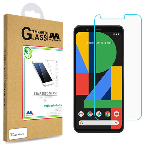 MyBat Tempered Glass Screen Protector (2.5D) for Google Pixel 4 - Clear