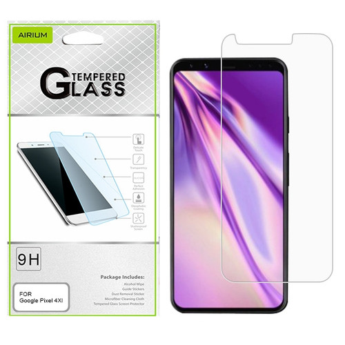 Airium Tempered Glass Screen Protector (2.5D) for Google Pixel 4 XL - Clear
