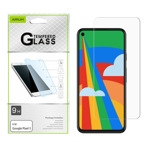 Airium Tempered Glass Screen Protector (2.5D) for GOOGLE Pixel 5 - Clear for Google Pixel 5 - Clear