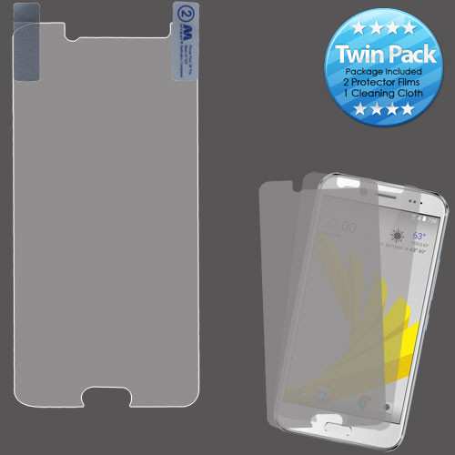 MyBat Screen Protector Twin Pack for Htc BOLT - Clear