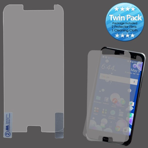 MyBat Screen Protector Twin Pack (Strong Adhesion & Ultra-thin) for Htc U11 - Clear