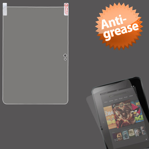 MyBat Anti-grease LCD Screen Protector for Kindle Fire HD (Fire HD 8.9'') - Clear