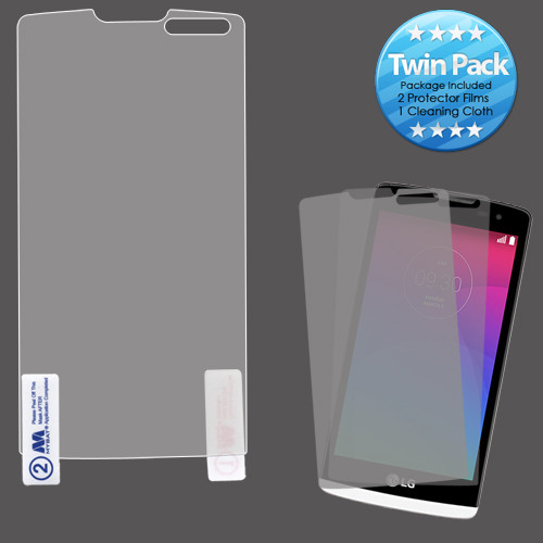 MyBat Screen Protector Twin Pack for LG C40 (Leon)/H320/RISIO / Tribute Duo - Clear