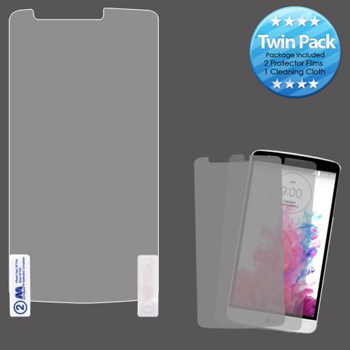MyBat Screen Protector Twin Pack for LG D690 (G3 STYLUS) - Clear