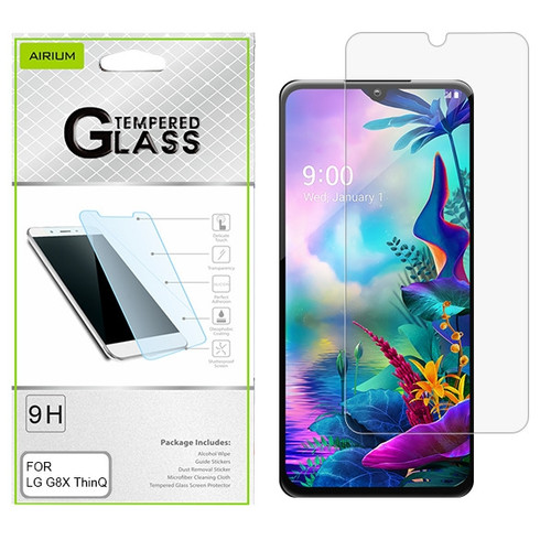 Airium Tempered Glass Screen Protector (2.5D) for LG G8X ThinQ - Clear