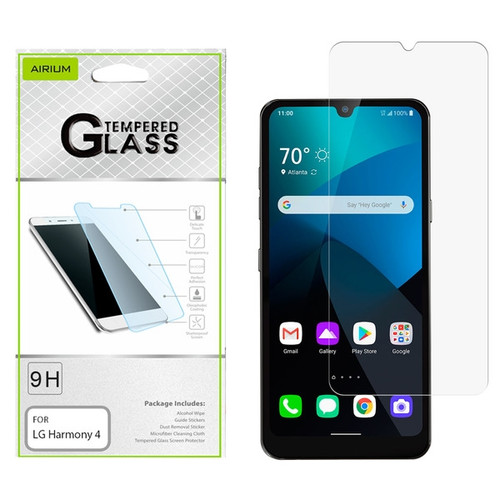 Airium Tempered Glass Screen Protector (2.5D) for LG Harmony 4 - Clear
