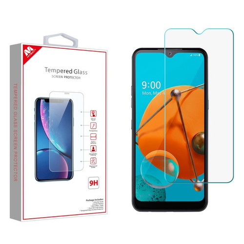 MyBat Tempered Glass Screen Protector (2.5D) for LG K51 / Reflect - Clear