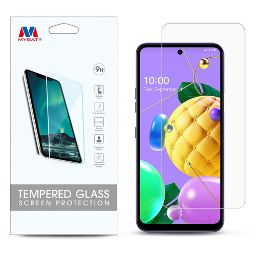 MyBat Tempered Glass Screen Protector (2.5D) for LG K53 / K52 - Clear
