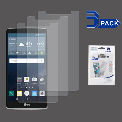 Asmyna Screen Protector (3-pack) for LG LS770 (G Stylo) / H740 (G Vista 2) - Clear