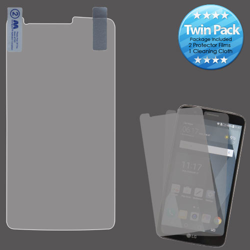 MyBat Screen Protector Twin Pack for LG LS777 (Stylo 3)/Stylo 3 Plus / MP450 - Clear