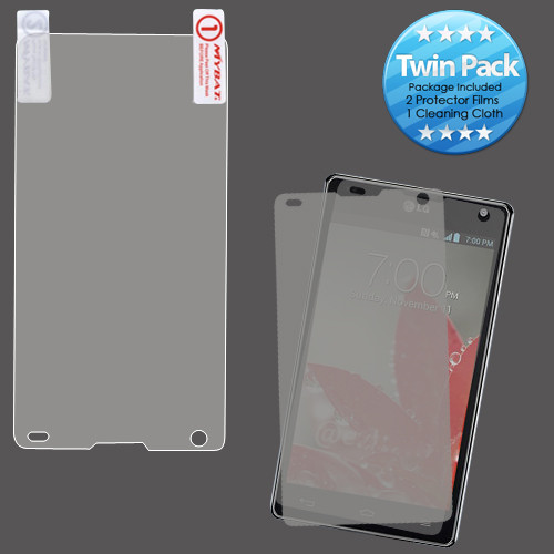MyBat Screen Protector Twin Pack for LG LS970 (Optimus G) - Clear