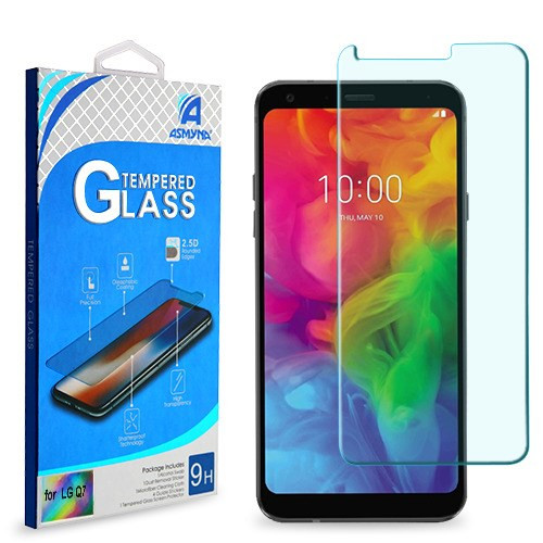 Asmyna Tempered Glass Screen Protector (2.5D) for LG Q7+ / Q7 - Clear