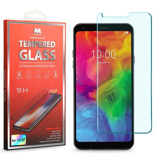 MyBat Tempered Glass Screen Protector (2.5D) for LG Q7+ / Q7 - Clear