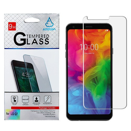 Airium Tempered Glass Screen Protector (2.5D) for LG Q7+ / Q7 - Clear
