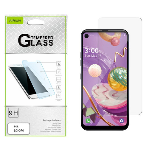 Airium Tempered Glass Screen Protector (2.5D) for LG Q70 - Clear