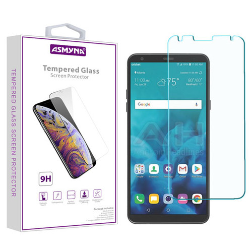 Asmyna Tempered Glass Screen Protector (2.5D) for LG Stylo 4 / Stylo 4 Plus - Clear