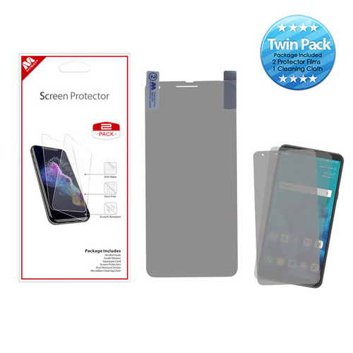MyBat Screen Protector Twin Pack for LG Stylo 4 / Stylo 4 Plus - Clear