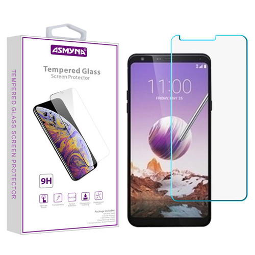 Asmyna Tempered Glass Screen Protector (2.5D) for LG Stylo 5 - Clear